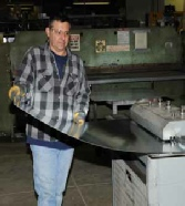 Our sheet metal shop experts custom fabricate for any metal needs