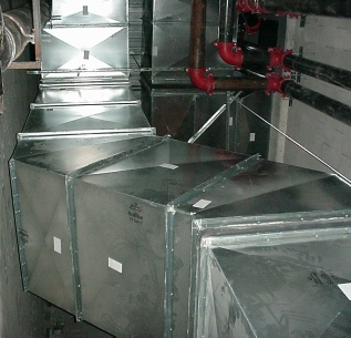 Custom duct work we manufacture