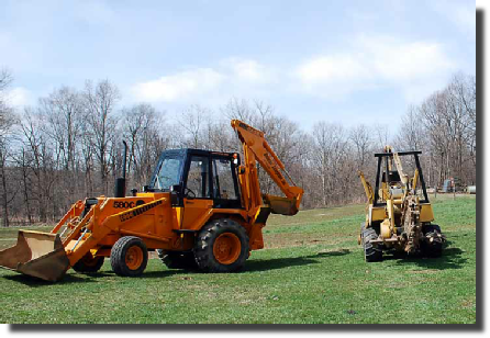 We have the tools it takes for trenching and excavation