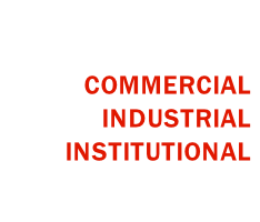 COMMERCIAL INDUSTRIAL INSTITUTIONAL