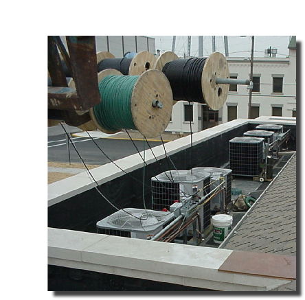 Wiring a roof top system